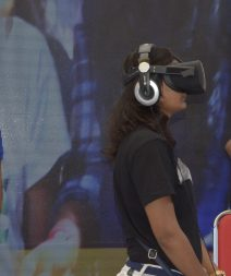 VR experience .......