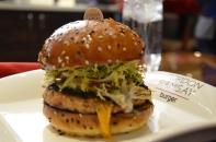 Faithful chicken burger